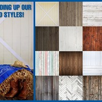 "Our Favorite Wood Backdrops! – 60""x60"""