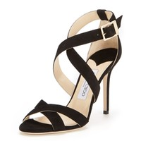 Lottie Suede Strappy Sandal by Jimmy Choo at Gilt