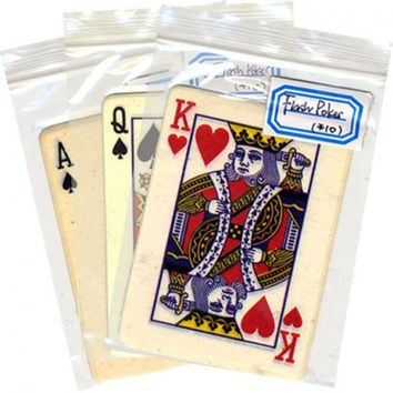 Flash Playing Card