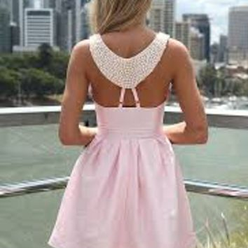 PRE ORDER - BREAKFAST AT TIFFANYS DRESS (Expected Delivery 30th May, 2014) , DRESSES, TOPS, BOTTOMS, JACKETS & JUMPERS, ACCESSORIES, 50% OFF SALE, PRE ORDER, NEW ARRIVALS, PLAYSUIT, COLOUR, GIFT VOUCHER,,Pink,Sequin,SLEEVELESS,MINI Australia, Queensland, B