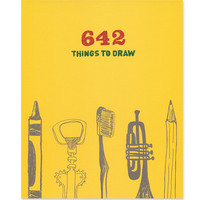 642 Things to Draw Book - Urban Outfitters