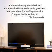 Buddhist Conquer the Angry Man by Love by greatwallsoffire
