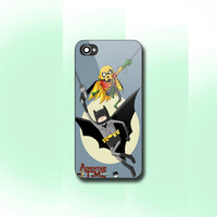 Adventure Time Batman - Print on hard cover for iPhone and Samsung Galaxy case