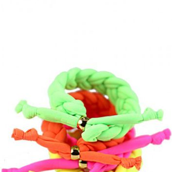 Neon Candy Bracelet Set - The Candy Room