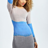 Millie Tie Dye Bodycon Dress