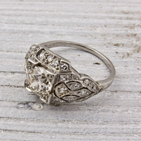 1 carat Old European Cut Diamond Engagement Ring | Shop | Erstwhile Jewelry Co.