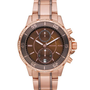 Michael Kors Michael Kors Two-Tone Chronograph Watch, Golden - Michael Kors