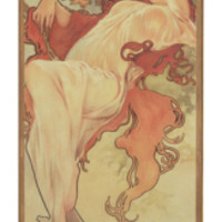 The Seasons: Summer, 1897 Giclee Print by Alphonse Marie Mucha at Art.com