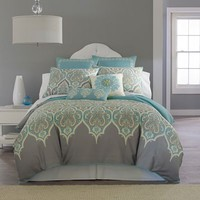 jcpenney - Kashmir Comforter Set & Accessories - jcpenney
