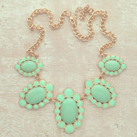 Mint Sophist Necklace