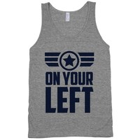 On Your Left (Winter Soldier Quote)
