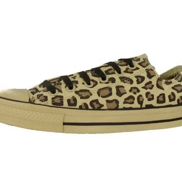 Converse Men's All Star Chuck Taylor Animal Print Leopard Ox Casual