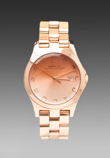 MARC BY MARC JACOBS Henry Hombre Watch in Rose Gold at Revolve Clothing - Free Shipping!