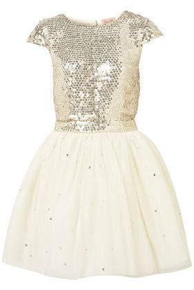 **Sequin Scatter Prom Dress by Dress Up Topshop - Dresses - Apparel - Topshop USA
