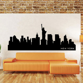 Vinyl wall decal - New York City