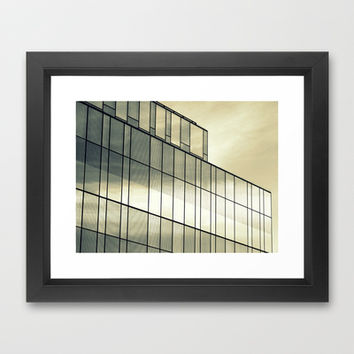 Silver Sliver Framed Art Print by RichCaspian | Society6