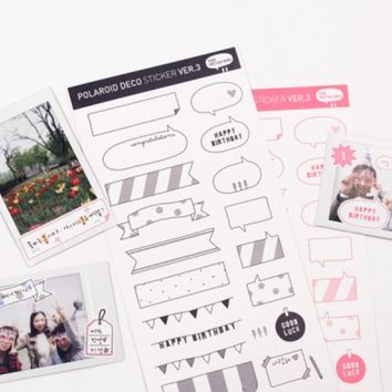 Instax Deco Sticker v5