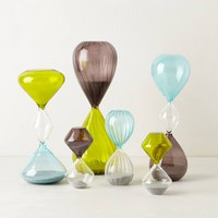 Color Blocked Hourglass by Anthropologie