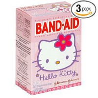 Hello Kitty Bandaids!