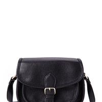 Runaround Faux Leather Crossbody
