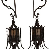 One Kings Lane - Regency Home - 19th-C. Venetian Lanterns, Pair