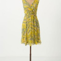 Buffed Chiffon Dress - Anthropologie.com