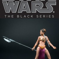 The Black Series PRINCESS slave LEIA 6in. Action Figure Adult Collector 2013