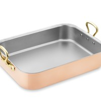 Mauviel Copper Tri-Ply Roaster