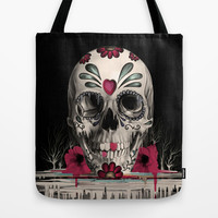 Pulled Sugar Tote Bag by Kristy Patterson Design