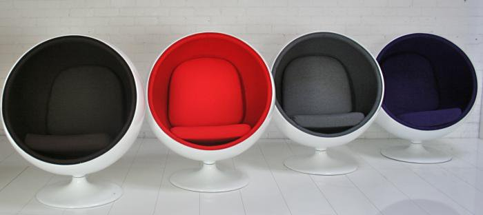 www.roomservicestore.com - 60's Mod Ball Chair (More Colors)