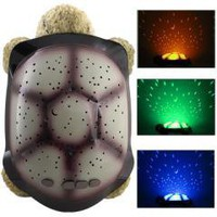 Baby Twilight Turtle Night Light Star Projector Lamp