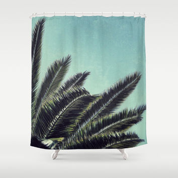 Palms Shower Curtain by RichCaspian | Society6