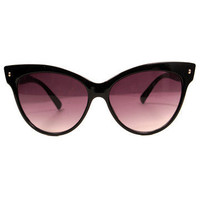 GYPSY WARRIOR - Cat Eye Sunglasses - Black