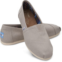 Light Grey Women's Canvas Classics | TOMS