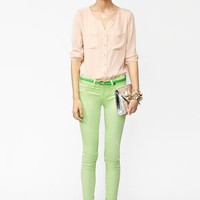Day Glo Skinny Jeans in  What&#x27;s New at Nasty Gal