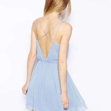 ASOS Chiffon Cami Skater Dress