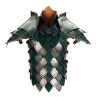 Green Elven Battle Armour - 300439 by Medieval Collectibles