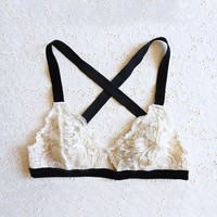 Sylvia Stretch Lace Bralette