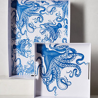 Octopus Melamine Serving Trays