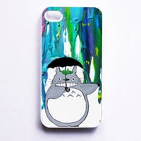Totoro iPhone 4/4s Case by MayhemHere on Etsy