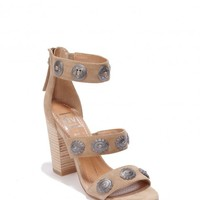 The Montey Heels - Nude Suede