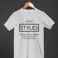 White T-Shirt   Fun One Direction Harry Styles Shirts