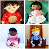 Custom Baby Doll where you Choose Ethnicity and by Meoneil