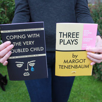 "Wes Anderson Journals! - ""Three Plays"" by Margot Tenenbaum and Moonrise Kingdom  notebooks - Up to 25% OFF!"