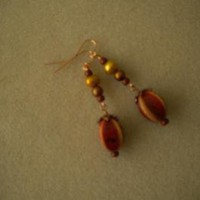 Lacena Dangle Earrings by IllusionsbyDonna on Zibbet