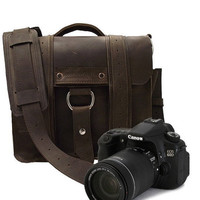 Memorial day 2012 Safari Camera Bag Brown by CopperRiverBags
