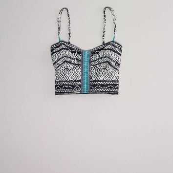 AE Festival Crop Corset - American Eagle Outfitters