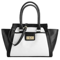 Kelly & Katie Katy Winged Color Block Satchel