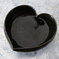 Japan relief mudteam4mashiko black ceramic by JDWolfePottery