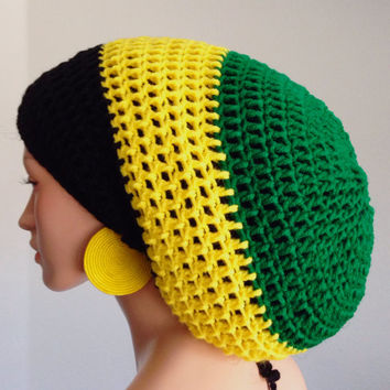 Free Crochet Pattern For Rasta Hat : CROCHET RASTA HAT WITH DREADLOCKS ? Only New Crochet Patterns